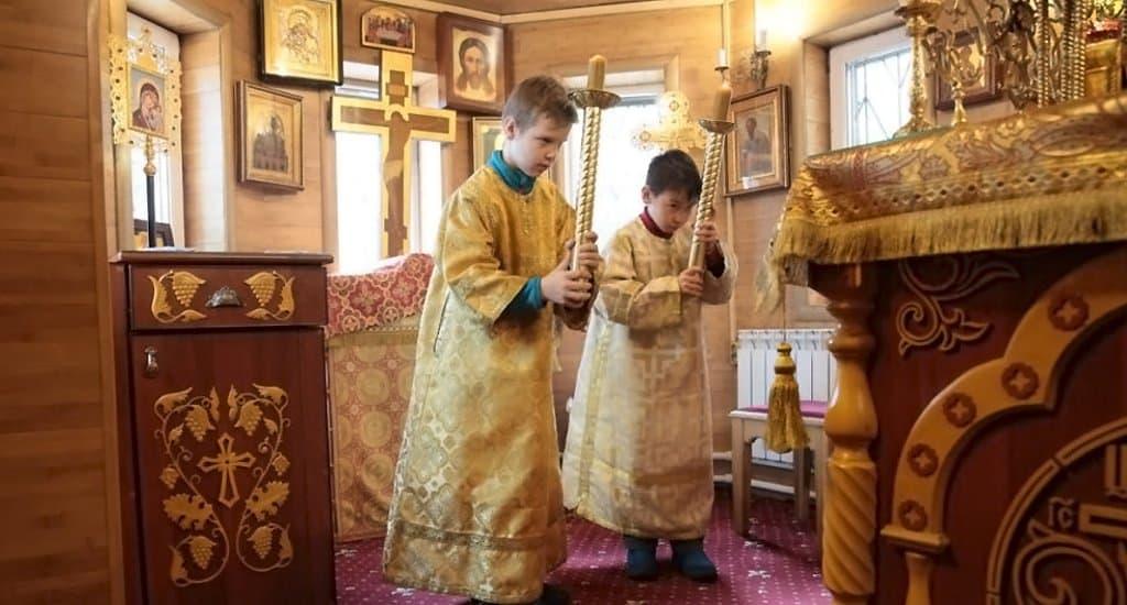 Школу алтарников создали при Братстве православных следопытов