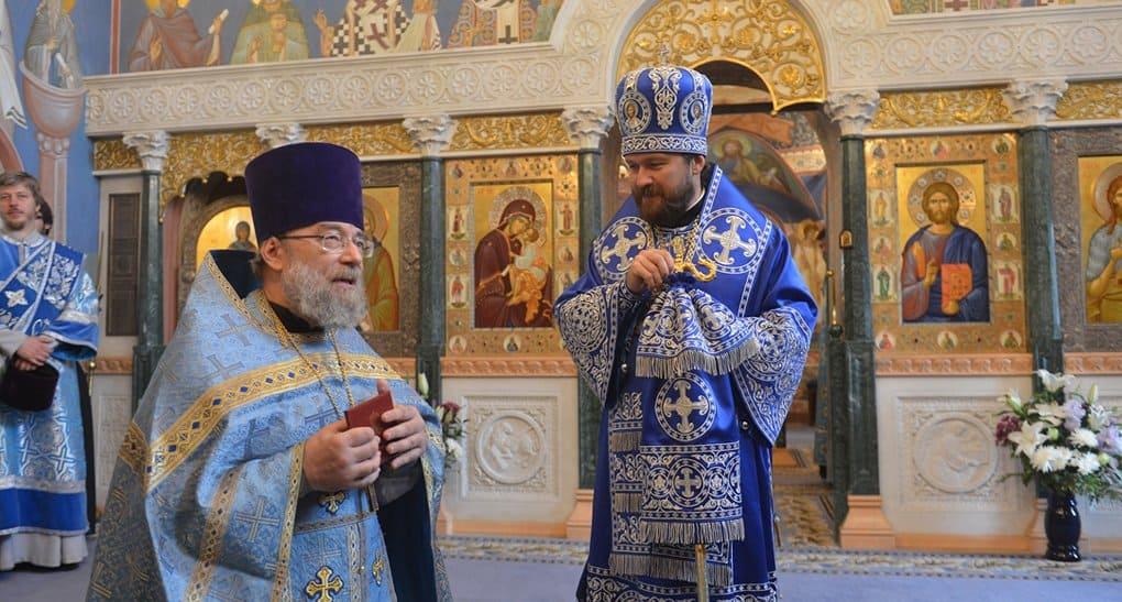 Священник Павел Хондзинский получил диплом кандидата теологии