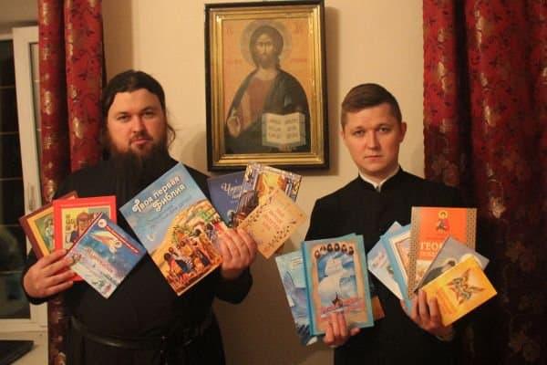 Многодетным Владимирской и Муромской епархий подарили книги