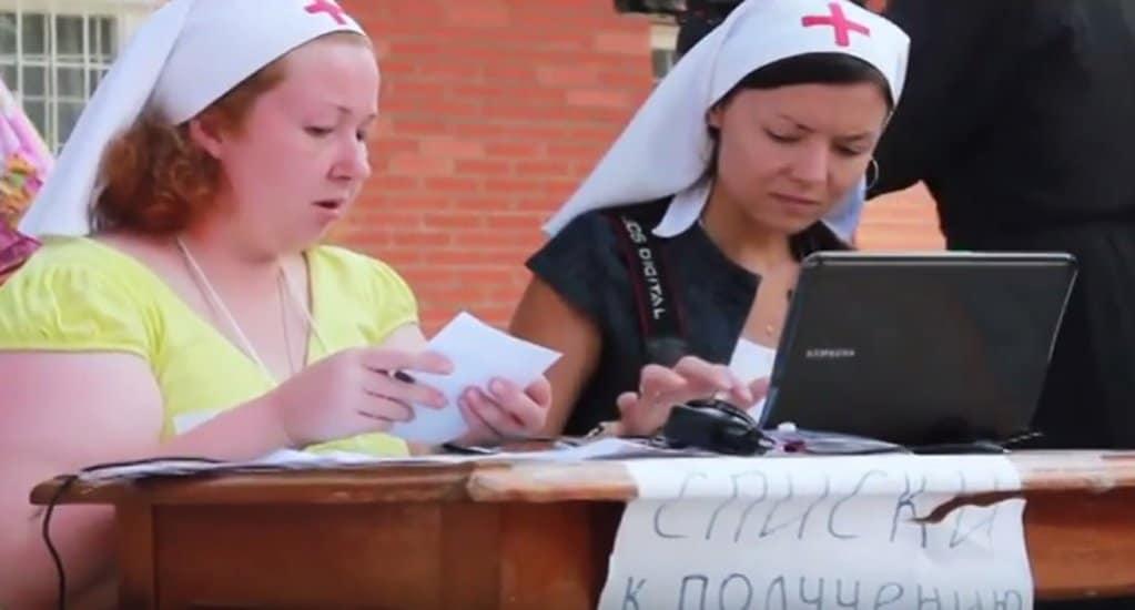 О церковной благотворительности за 7 лет рассказали в видеоролике