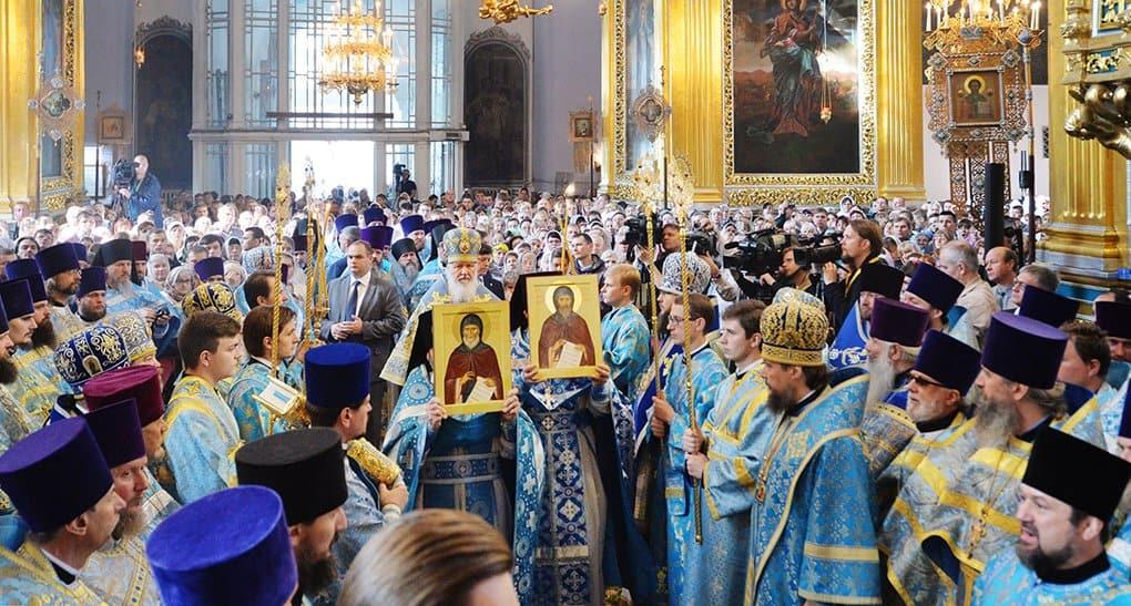 В Смоленске прославили Рославльских схимонахов Никиту и Феофана