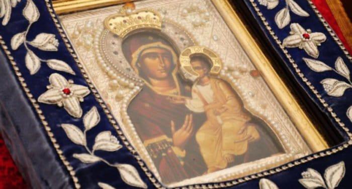 Монреальская икона Божией Матери