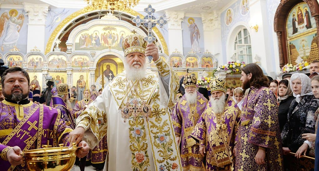 Патриарх Кирилл освятил главный собор Ташкента и место под духовный центр