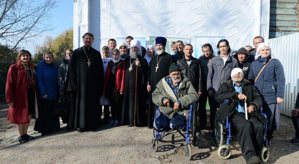 Церковный приют для бездомных после ремонта открыли в Уфе