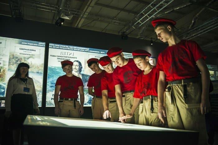 Очередной в стране парк «Россия - Моя история» открылся в Казани
