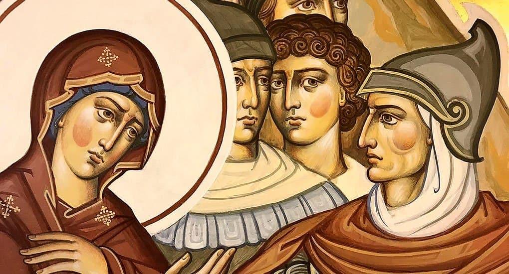 Что означает цвет нимба на иконе святого?