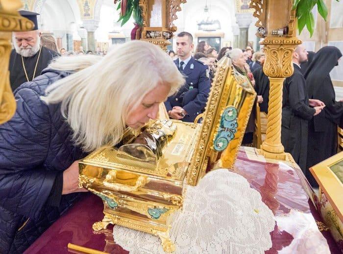 В греческих Патрах поклоняются мощам Серафима Саровского