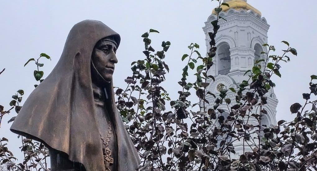 Памятник святой Елизавете Федоровне открыли в подмосковном монастыре