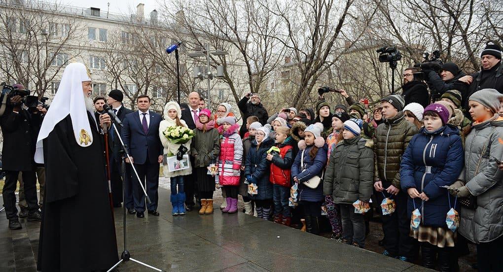 Патриарх Кирилл встретится с детьми погибших сотрудников ФСБ