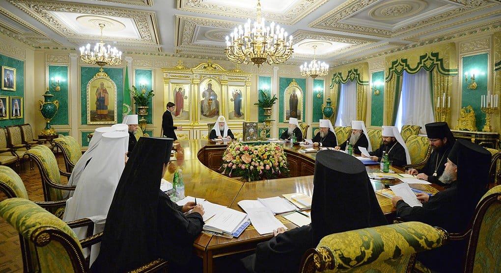 Подведены итоги первого в 2018 году заседания Священного Синода