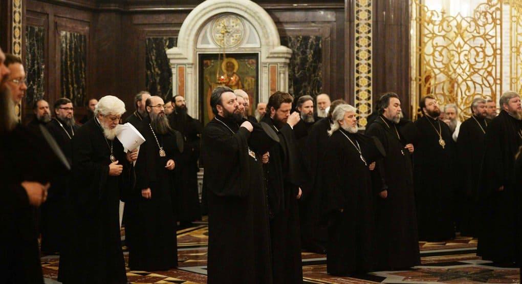 На Архиерейском Соборе прославлен ряд местночтимых святых