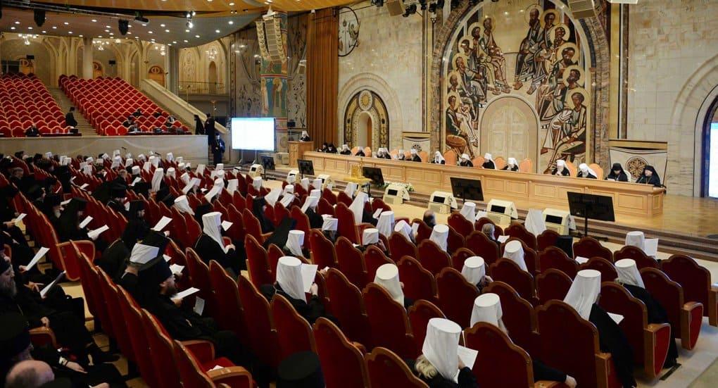 Архиерейский Собор Русской Церкви завершил свою работу