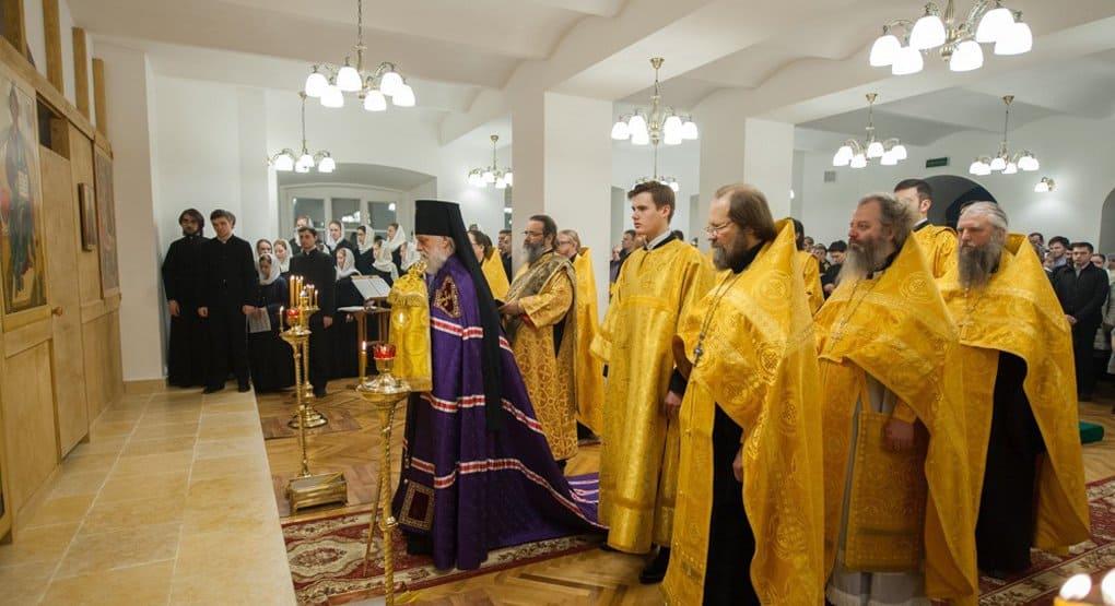 В Московской духовной академии воссоздали храм XIX века