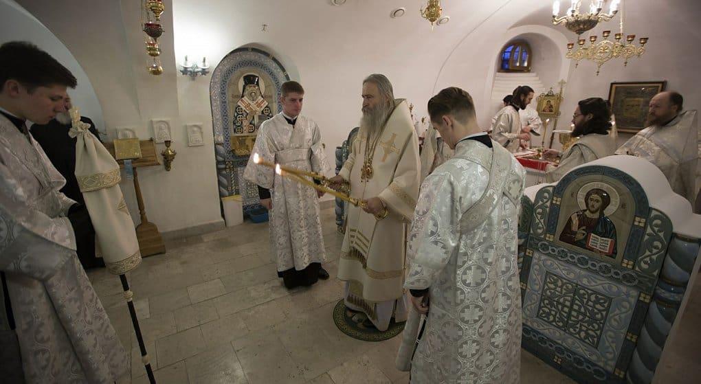 Придел храма при доме для слепоглухих освятили в Сергиевом Посаде