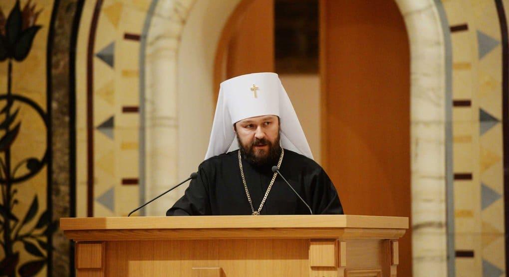 Митрополит Иларион пояснил суть письма бывшего митрополита Киевского Филарета
