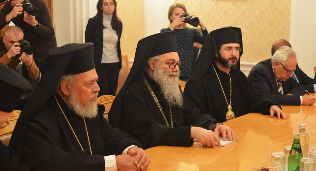 Антиохийский патриарх благодарен России за помощь в установлении мира в Сирии