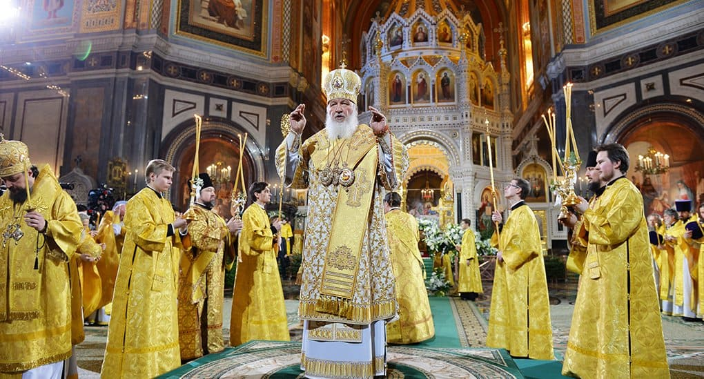 На Рождество 2019-го патриарх Кирилл совершит Литургию в храме Христа Спасителя