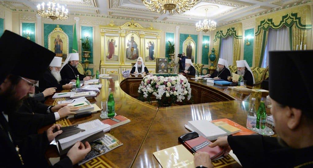 В Москве собирается Синод, который, возможно, обсудит ситуацию с автокефалией на Украине