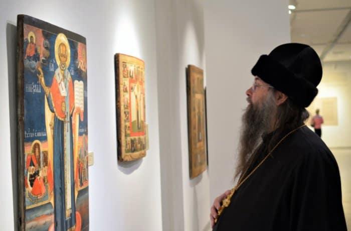 52 редких иконы святителя Николая Чудотворца показывают в «Новом Иерусалиме»