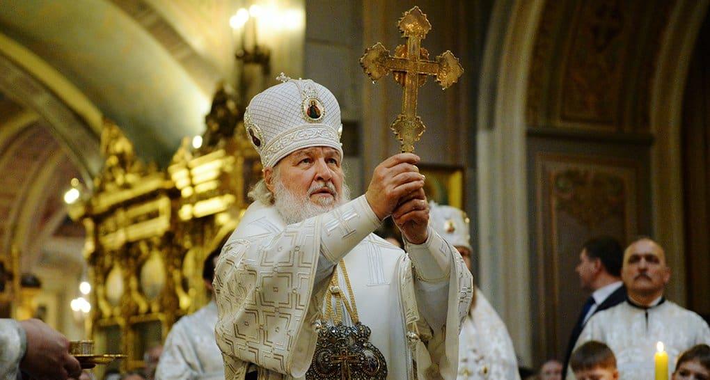 Церковь верит, что пока освящается вода, мир не погибнет, - патриарх Кирилл