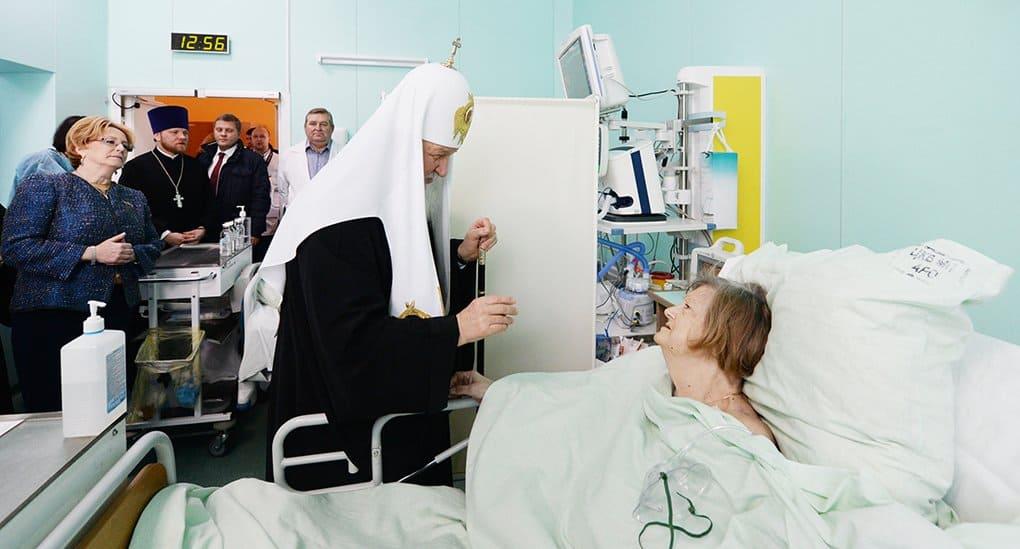 Патриарх попросил вместо цветов на интронизацию пожертвовать церковной больнице