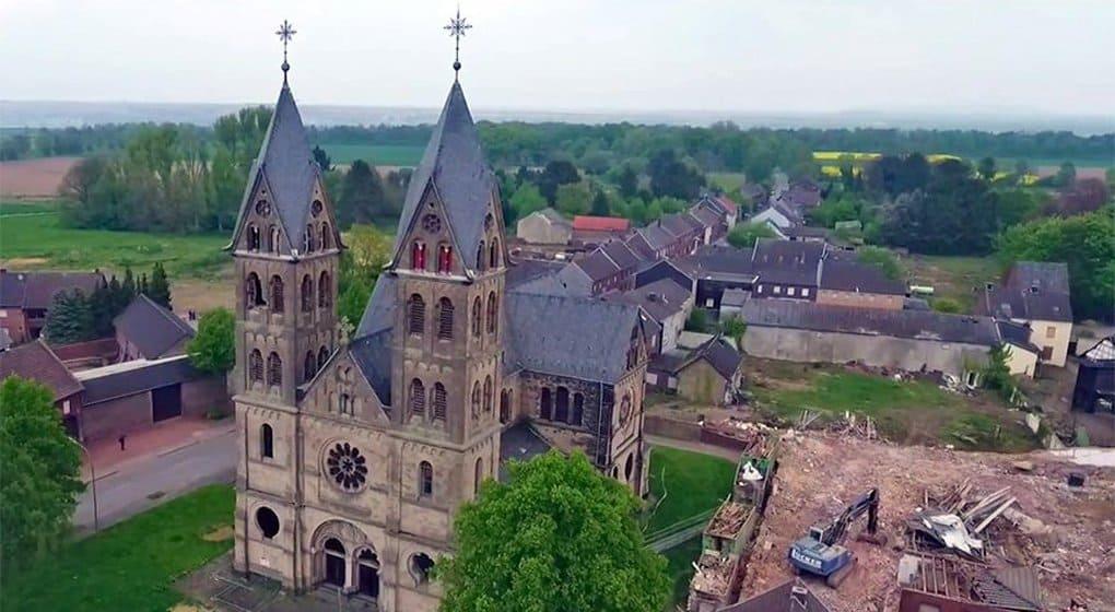 Ради угольных разработок в Германии снесли собор XIX века