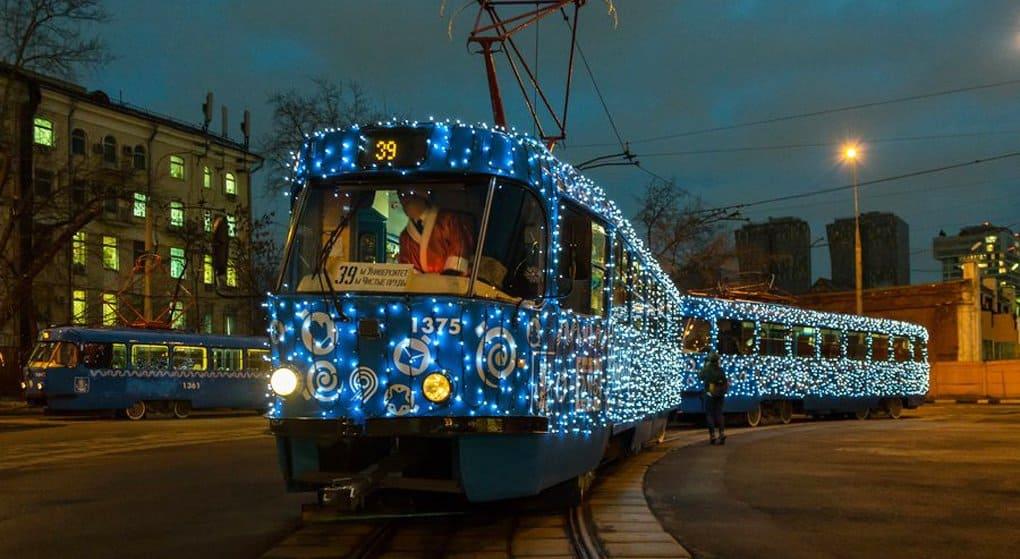 В Крещенскую ночь наземный транспорт Москвы будет работать до 3:00