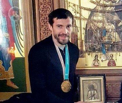 Хоккеист Павел Дацюк посетил монастырь, чтобы поблагодарить Бога за победу на Олимпиаде