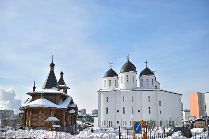 Уникальный храм на Ходынке помогли возвести метростроевцы