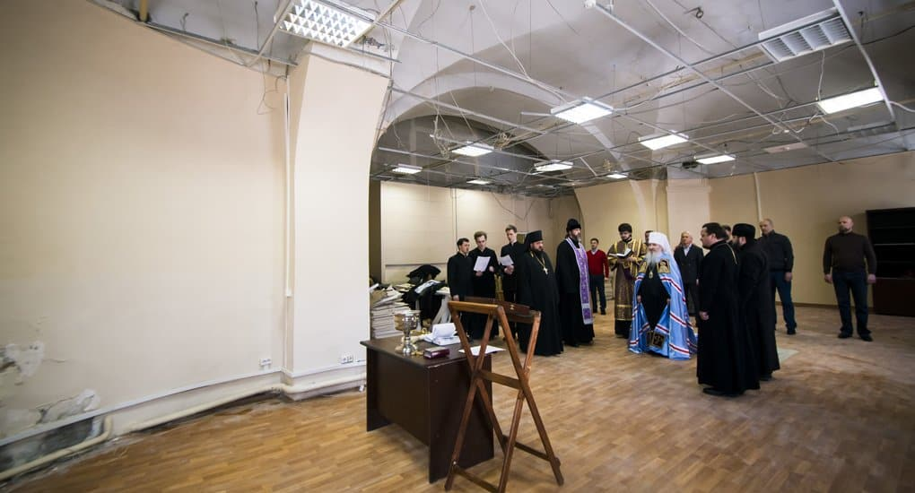 В Николо-Гостинодворском храме Казани, связанном с патриархом Ермогеном, снова начали служить