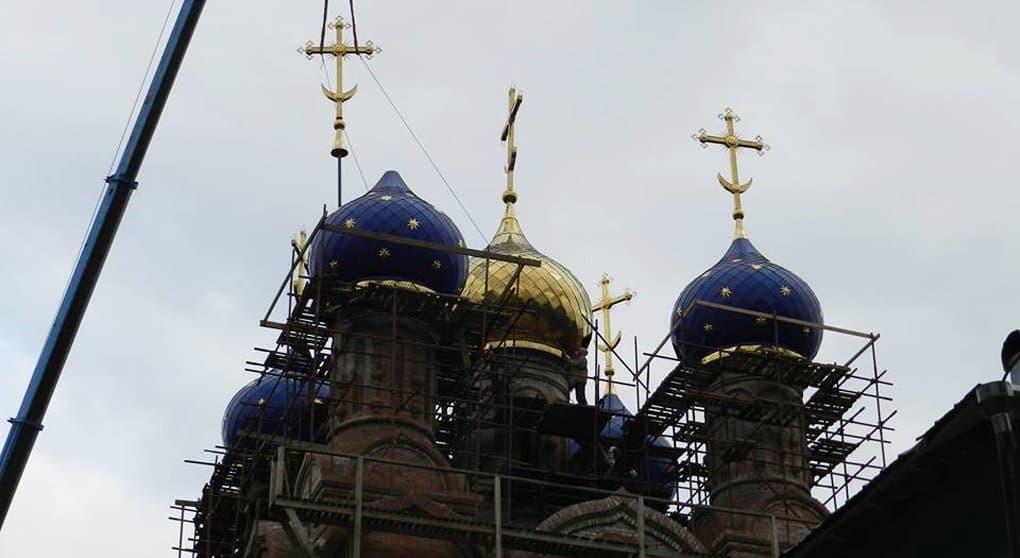 Бывшее административное здание перестроили в уникальный по красоте храм