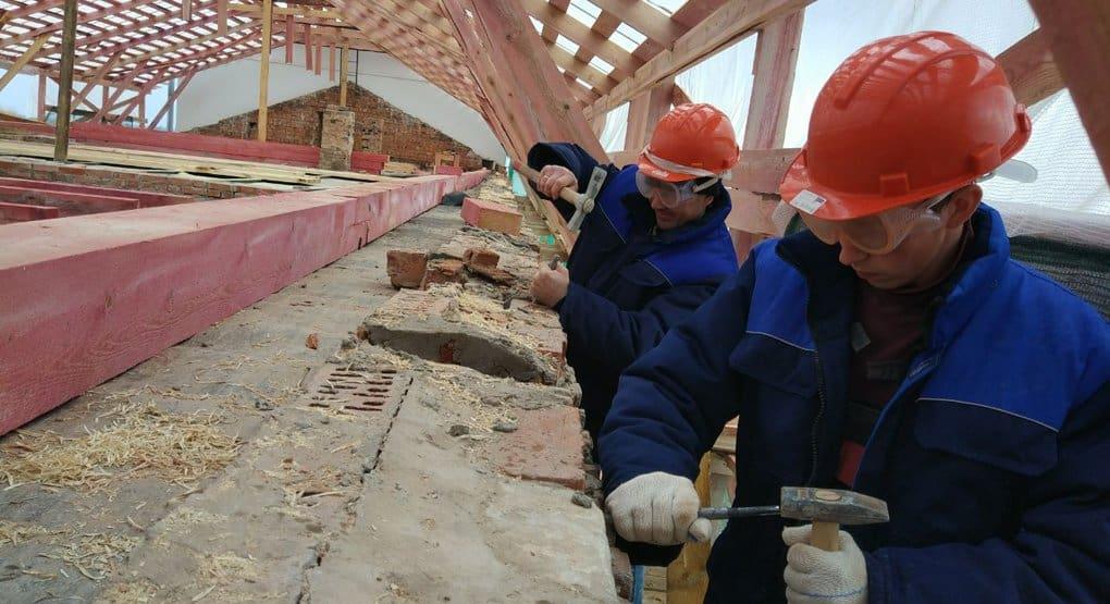 Началась реставрация части одного из древнейших монастырей России