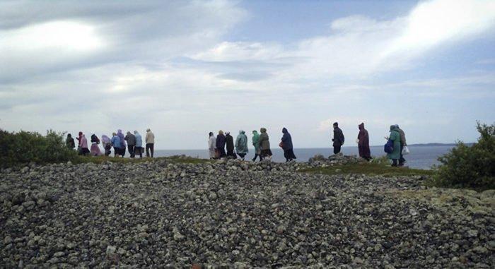 Аэролодка помогла создать на Соловках новый маршрут для туристов