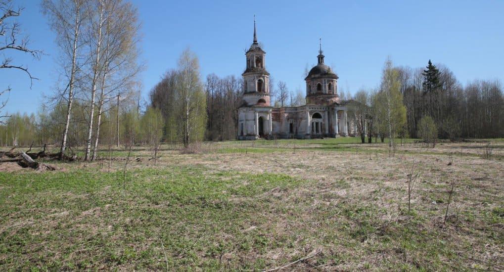 Храм Вознесения в елпатьевском лесу