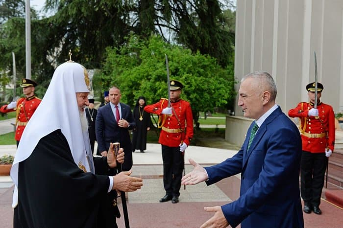 Патриарх Кирилл впервые посетил Албанию