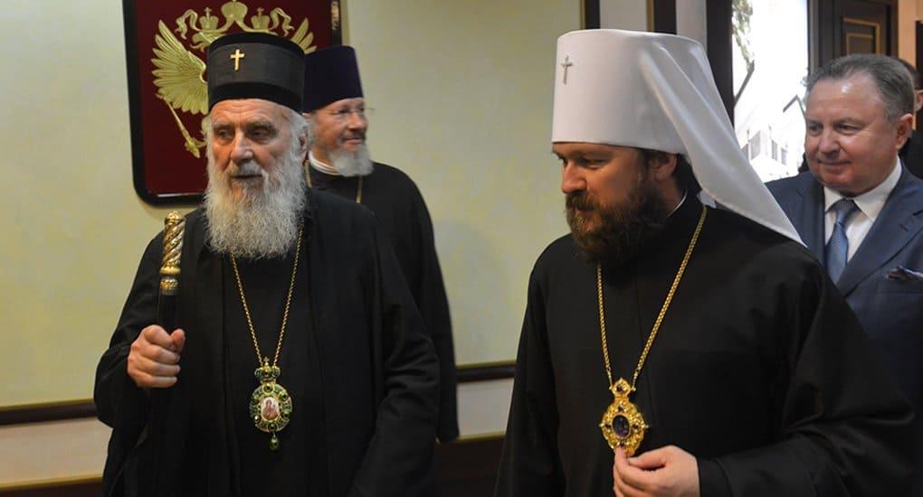 Патриарх Сербский Ириней примет участие в Дне славянской письменности и культуры