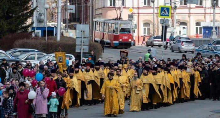 Томичи прошли общегородским Крестным ходом