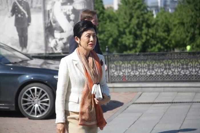 «Это особое место»: японская принцесса посетила Храм-Памятник на Крови в Екатеринбурге