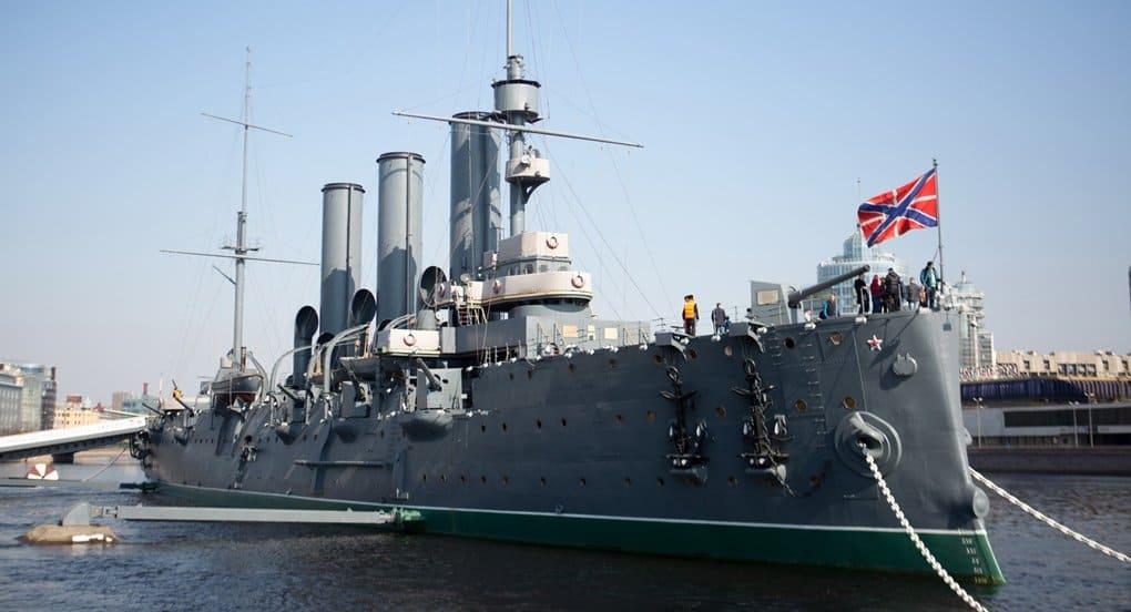 На крейсере «Аврора» впервые с 1917 года начал постоянно действовать храм