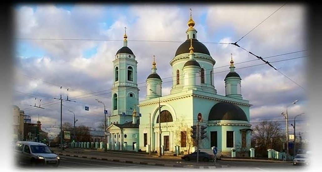 Церкви вернули храм Сергия Радонежского в Рогожской слободе