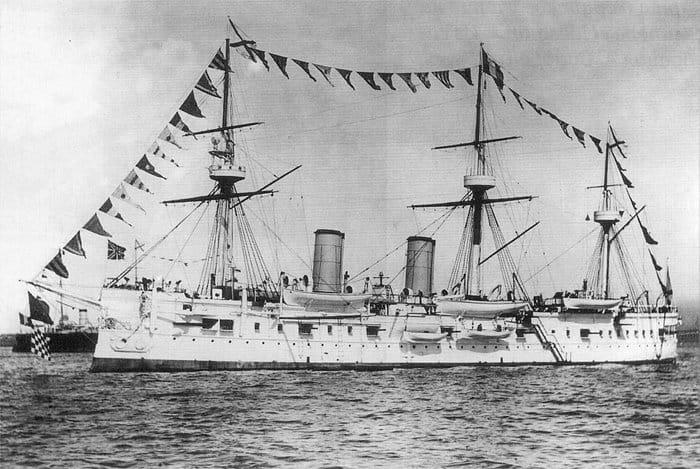 В Японском море нашли затонувший в 1905 году крейсер «Дмитрий Донской»