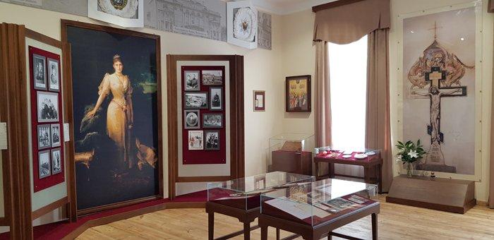 Патриарх Кирилл посетил музей памяти алапаевских мучеников