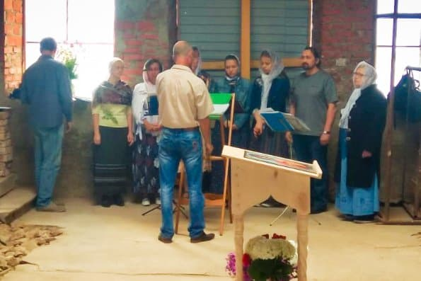 В сельском храме XIX века в Татарстане впервые за 85 лет совершили Литургию