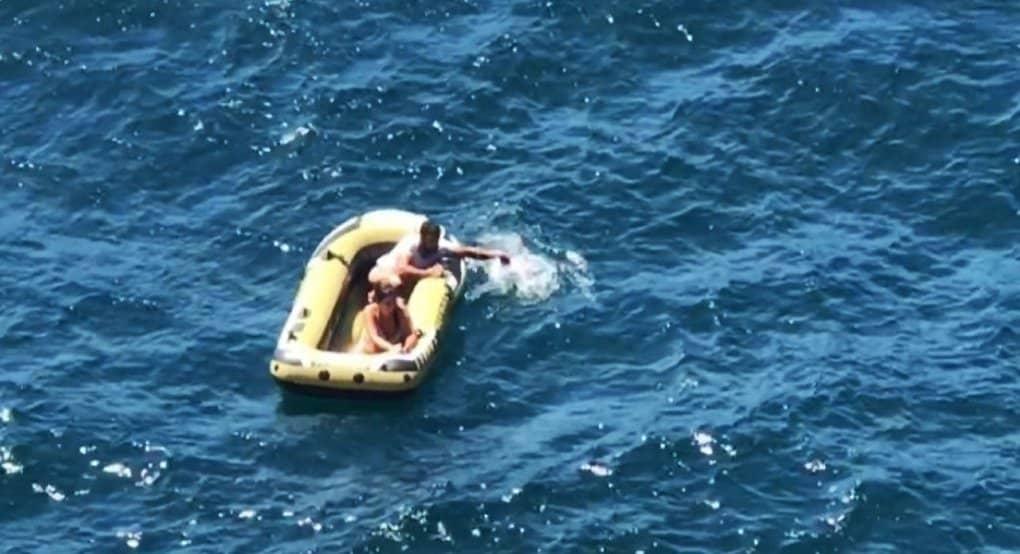 Капитан по имени Христос спас пару из Новороссийска, 5 дней дрейфовавшую в море