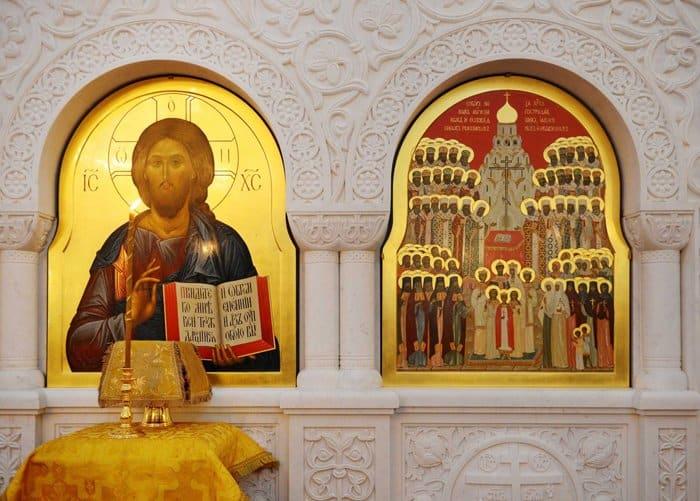 Храм в честь новомучеников освятил в Строгине патриарх Кирилл