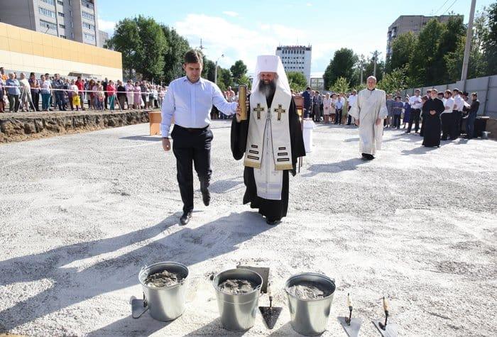 Храм в память о солдатах-текстильщиках заложили в Иванове