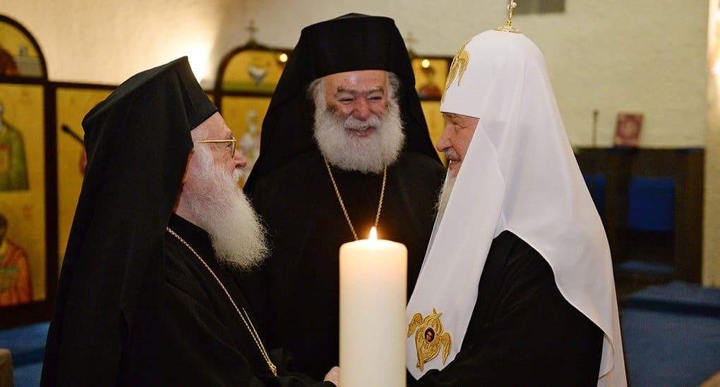 Патриарх Кирилл встретится 31 августа с Патриархом Константинопольским Варфоломеем