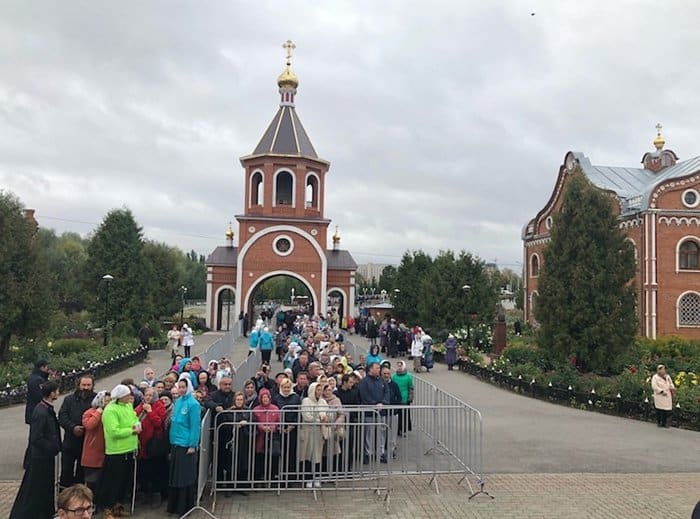 Десницу Спиридона Тримифунтского на один день принесли в Новочебоксарск