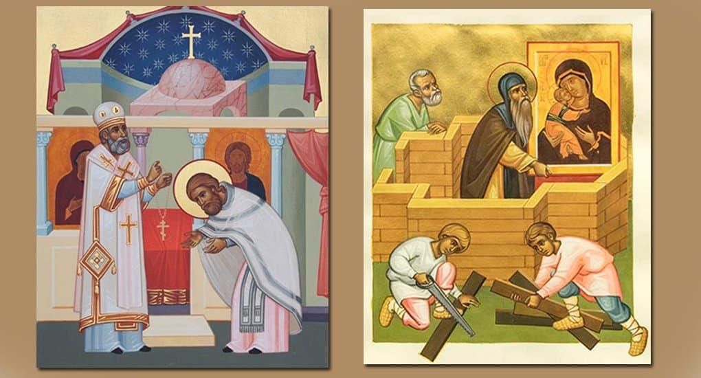 В Москве покажут миниатюры петербургского иконописца Георги Панайотова