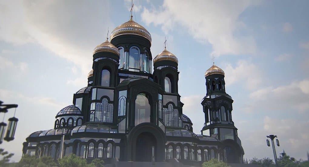 Главный военный храм России в парке «Патриот» вместит до 6 тысяч человек